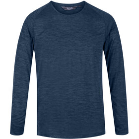 Regatta Burlow Longsleeve Top Men, dark denim